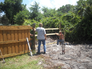 If we have to remove your fence to do the job, we have the right guys to put up a new one!