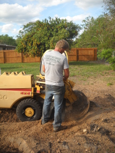 Did I mention we stump grind, that was that huge Oak tree